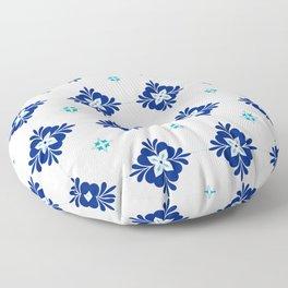 blue morrocan dream no3 Floor Pillow