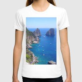 Isle of Capri Coastline T-shirt