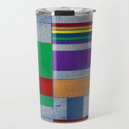 Mid-Century Modern Art - Rainbow Pride 1.0 Travel Mug