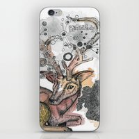 fawn iPhone & iPod Skins featuring Fawn by Pfirsichfuchs