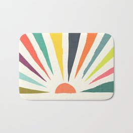 Rainbow ray Bath Mat