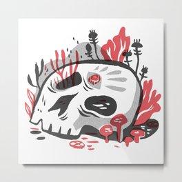 Skill and Mushroom Metal Print