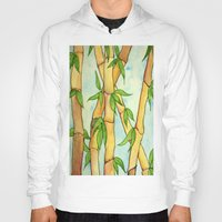 bamboo Hoodies featuring Bamboo by William Gushue
