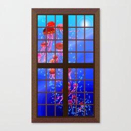 Window Jelly 1 Canvas Print