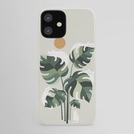 Cat and Plant 11 iPhone Case