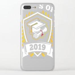 Class-of-2019---Class-of-2019-Graduation-T-Shirt Clear iPhone Case