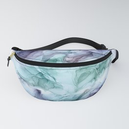 Growth- Abstract Botanical Fluid Art Painting Fanny Pack