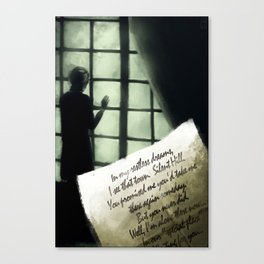 Waiting for you... - Silent Hill 2 Canvas Print