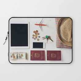 Ready to leave! Travel the world Laptop Sleeve