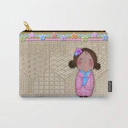 kokeshi sakura Carry-All Pouch