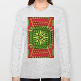 Poinsettia Flower Long Sleeve T-shirt