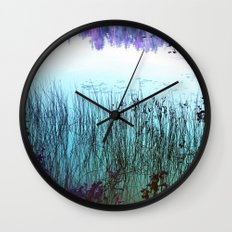 Reflective Tranquility Wall Clock
