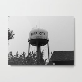 Surf City Metal Print