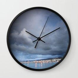 Port of Rethymno Wall Clock