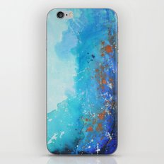 Blue Suede Blues iPhone & iPod Skin