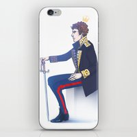 hamlet iPhone & iPod Skins featuring Benedict Cumberbatch - Hamlet by enerjax