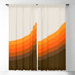 Golden Horizon Diptych - Right Side Blackout Curtain