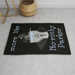 Dorothy Parker is Over It Rug