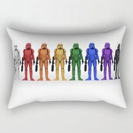 Bright side of the dark side Rectangular Pillow