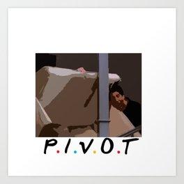Pivot Art Print