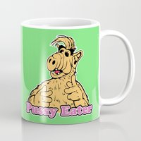 cooking Mugs featuring Cooking with ALF by Don Calamari