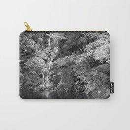 Waterfall in Japanese Zen Garden Carry-All Pouch