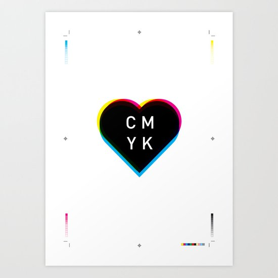 Print Love Art Print