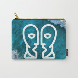 Is there any body out there? (designer) Carry-All Pouch