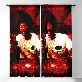 My vengeance upon thee Blackout Curtain