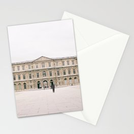 Sometimes People Annoy Me Feat. Louvre courtyard, Paris Stationery Cards