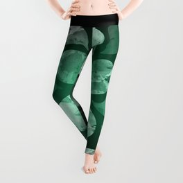 Abstract Water Drops XXX Leggings