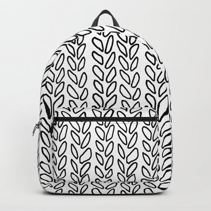 Knit Outline Zoom Backpack