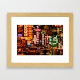 Bangkok - Chinatown Framed Art Print