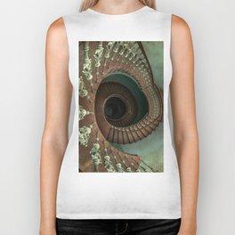 Ornamented spiral staircase Biker Tank