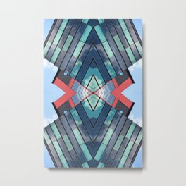 DQU 0812 (Symmetry Series III) Metal Print