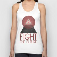 illuminati Tank Tops featuring Illuminati by Ed Burczyk
