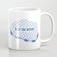 regina mills Mugs featuring Regina Sassy Mills | Filet the bitch! by CLM Design