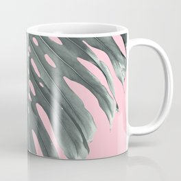 Monstera Finesse #1 #tropical #decor #art #society6 Coffee Mug