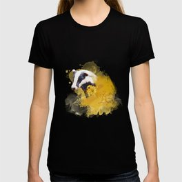 Hufflepuff HP inspired artwork T-shirt