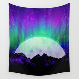 Under the Northern Lights Wall Tapestry