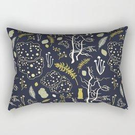 deep dark woods Rectangular Pillow