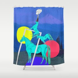 All Your Love Shower Curtain