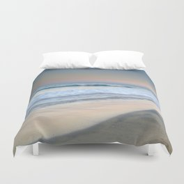 Reflections. Pink sea Duvet Cover
