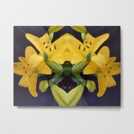 """""""Flowers When They're Due"""" Metal Print"""