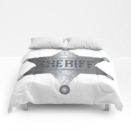 Sheriff Badge Comforters