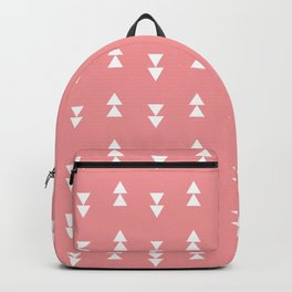 Girly Pink Arrow Design Backpack