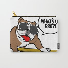 Bulldog on board cart Carry-All Pouch