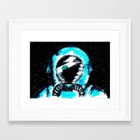 spaceman Framed Art Prints featuring Spaceman by Humberto Milhomem