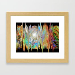 Comet Framed Art Print