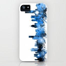 Melbourne Australia Skyline iPhone Case